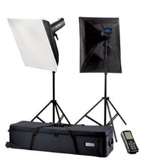 Kit studio Falcon Eyes Studio TFK-2600L cu LCD Display